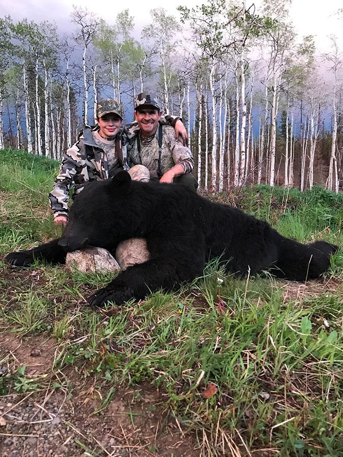 Black Bear Hunting BC