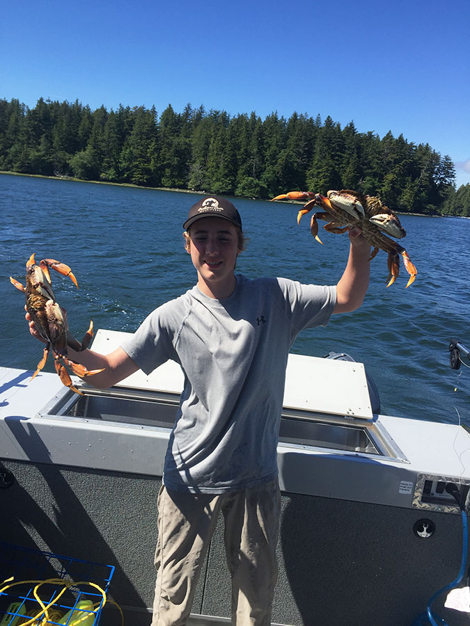 Ocean Fishing Charters Dungeness Crab