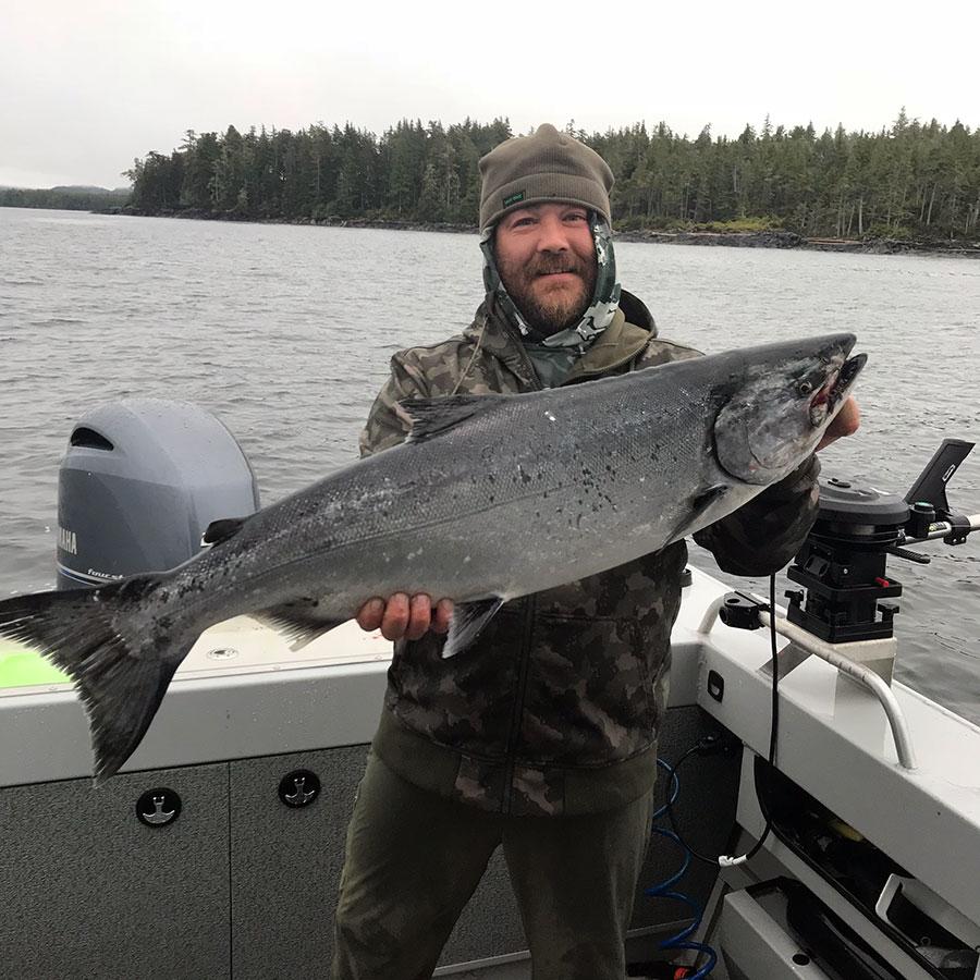 Ocean Salmon Fishing Charters