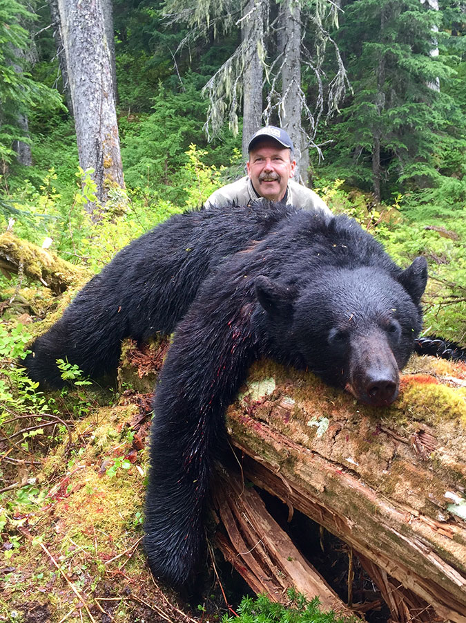Spring Black Bear Hunt in BC